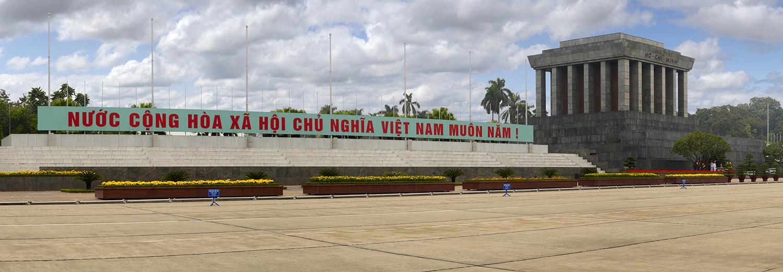 Ha Noi, mausolée Ho Chi Minh