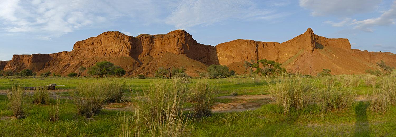 Solitaire, dunes pétrifiées