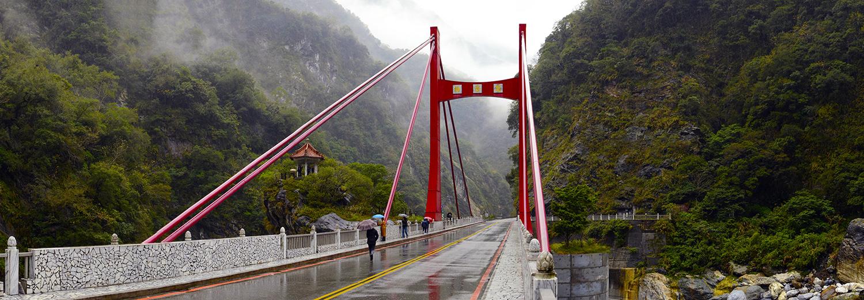 Taroko, pont de marbre