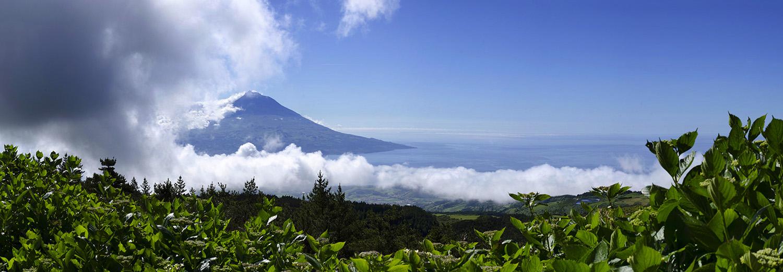 Açores, Faial (vue sur Pico)