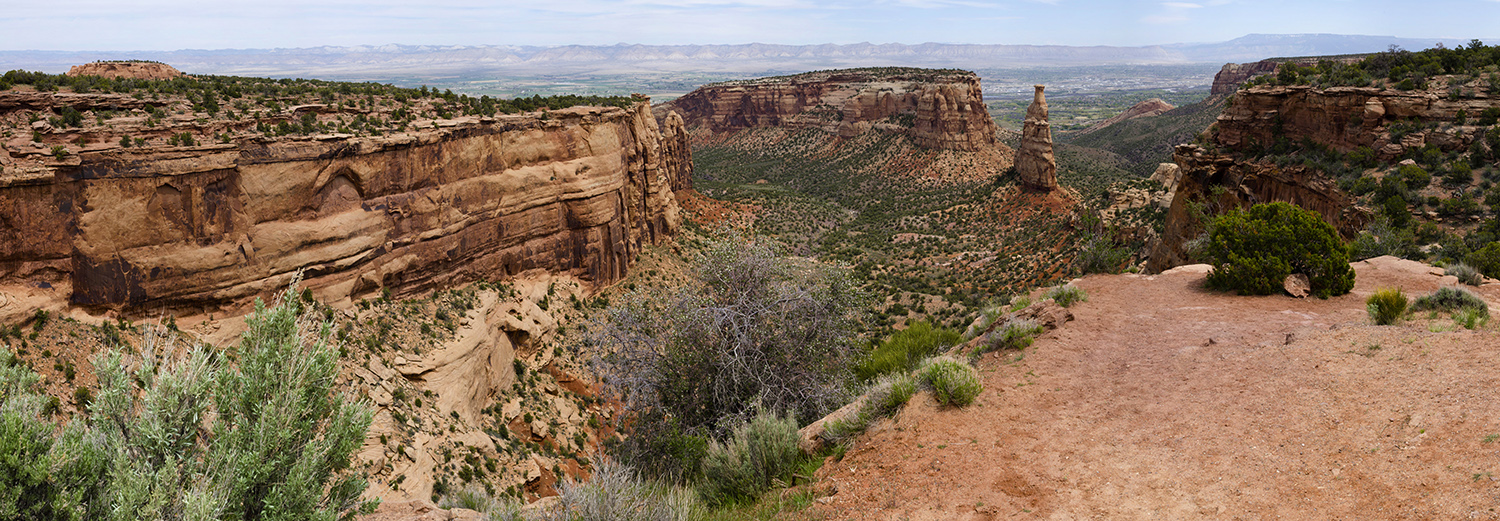 Colorado National Monument, Independence Monument View