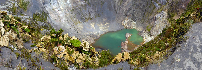 Volcan Irazu, cratère principal