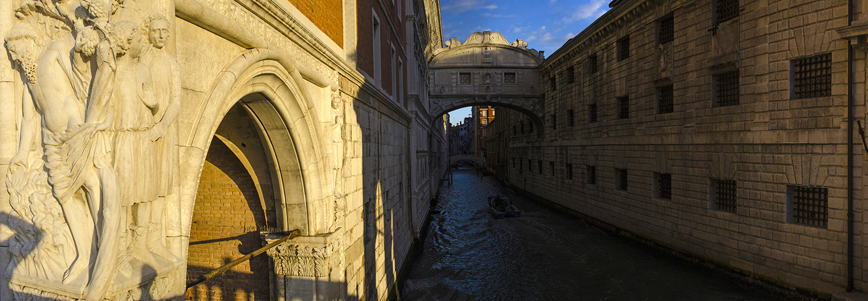 Venise, San Marco (pont des soupirs)