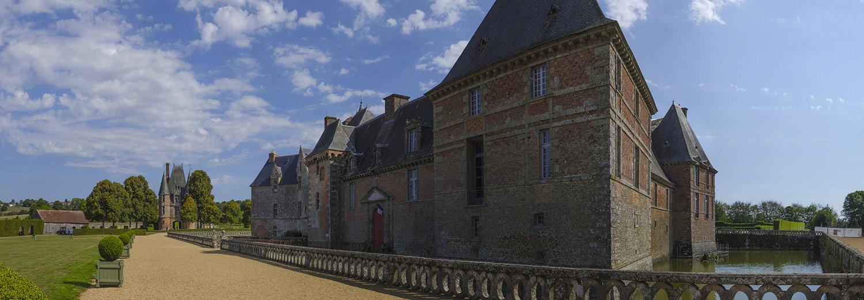 Carrouges, le château