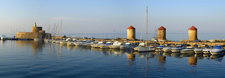 Île de Rhodes, Rhodes-ville