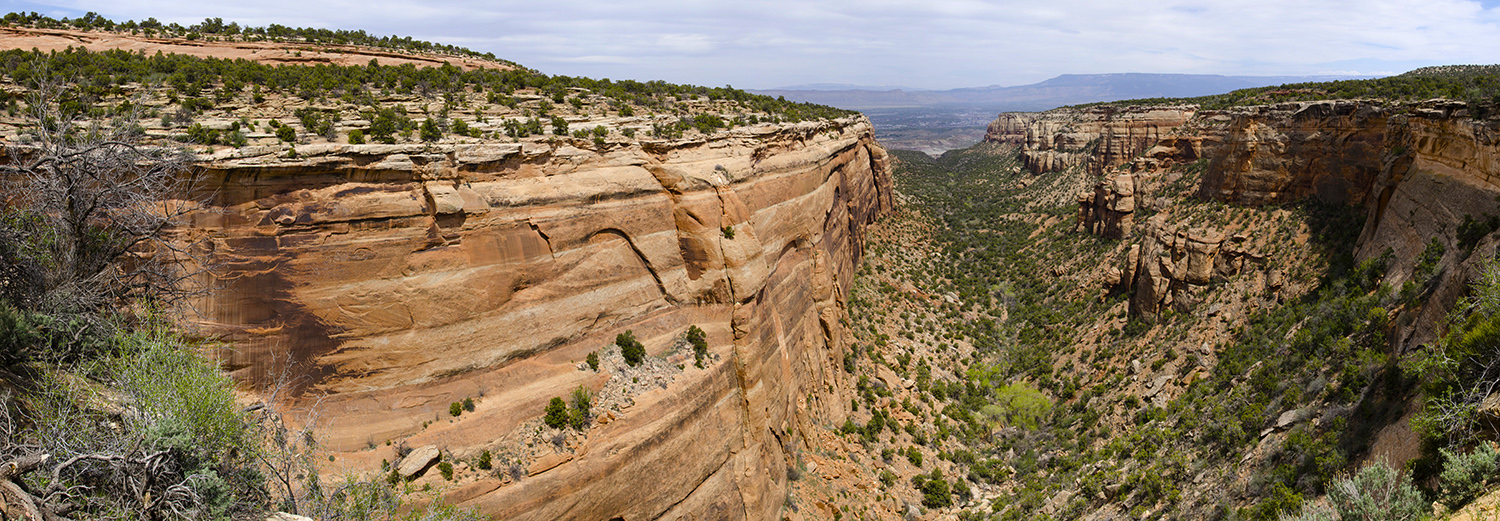 Colorado National Monument, Red Canyon Overlook