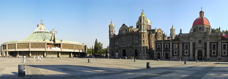 Mexico, basilique Nuestra Senora de Guadalupe