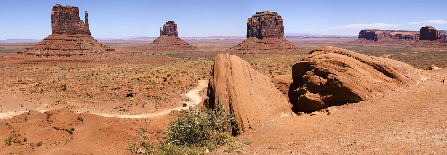 Monument Valley, the Mittens