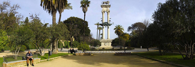 Séville, jardines de Murillo