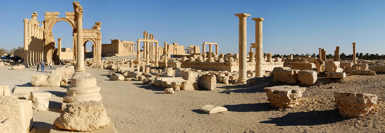 Palmyre, arc de triomphe