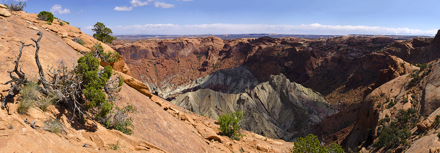 Canyonlands N.P., Upheaval Dome