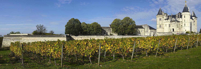 Saumur, le château