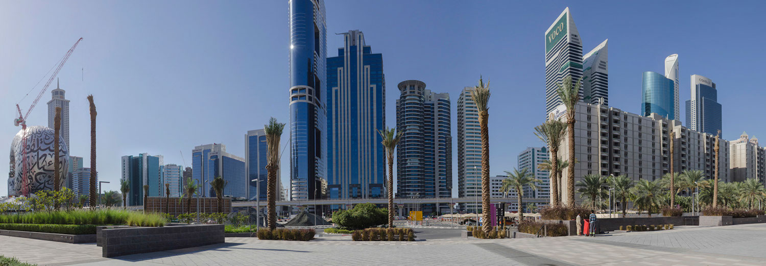 Dubaï - Quartier World Trade Center