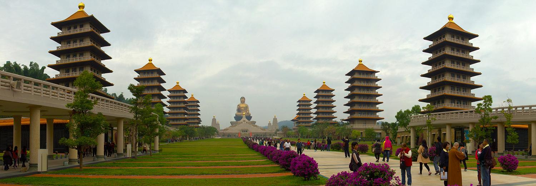 Kaohsiung, monastère Fokuangshan