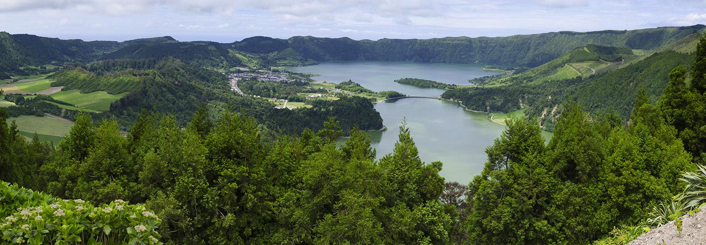 Açores, Sao Miguel (Sete Cidades, Vista do Rei)
