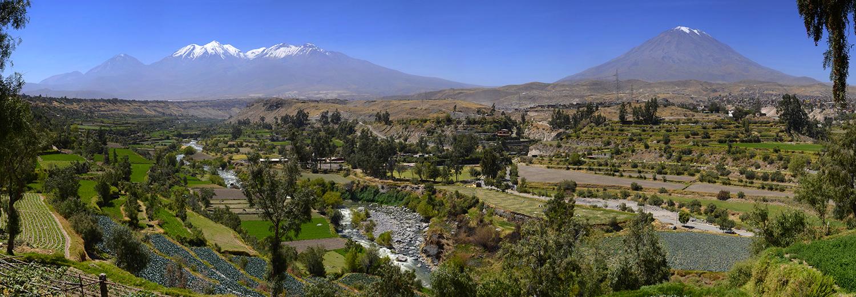 Arequipa, volcans Chachani & Misti