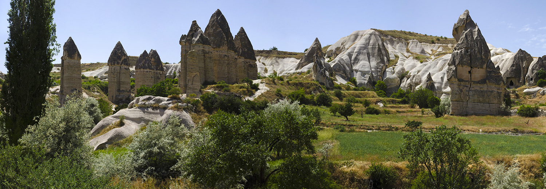 Cappadoce, vallée El Nazar