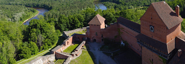 Lettonie, château de Turaida
