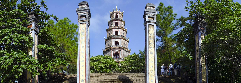 Hue, pagode de la Dame Céleste