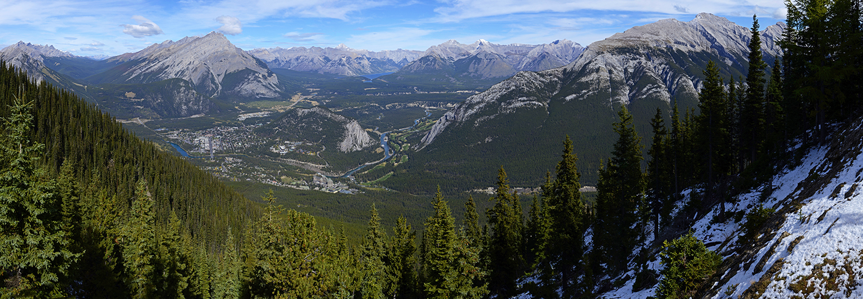 Alberta, Banff (sur le mont Sulphur)