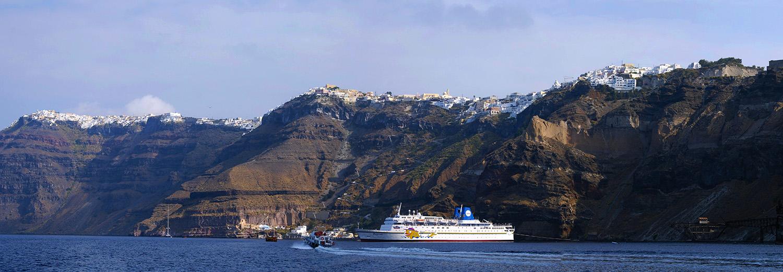 Santorin, Fira
