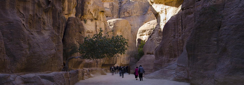 Petra, El Siq