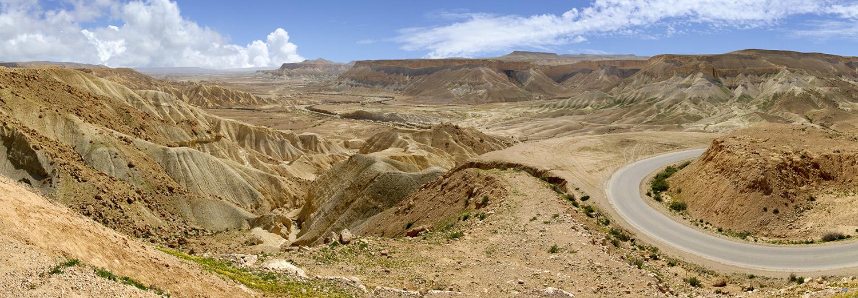 Sde Boker, vallée du Zin et plaine d'Avdat
