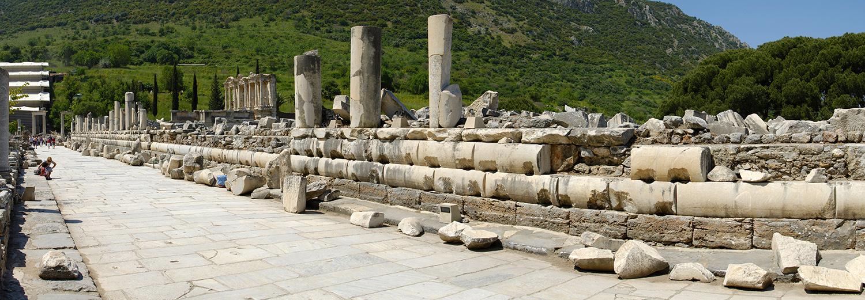 Ephèse, la rue de marbre