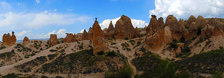 Cappadoce,vallée de Derbent