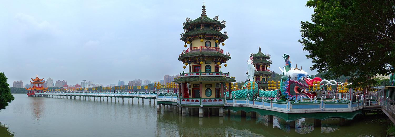 Kaohsiung, lac du lotus