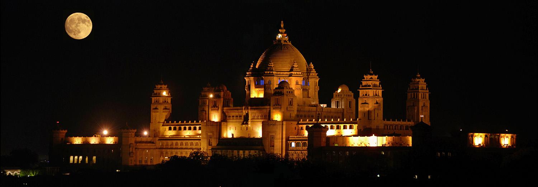 Jodhpur, palais Umaïd Bhawan
