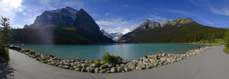 Alberta, Banff N.P. (lac Louise)