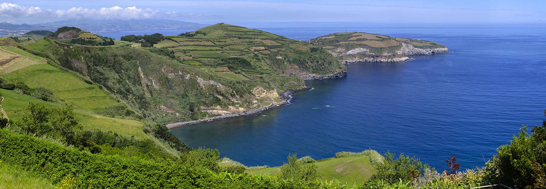 Açores, Sao Miguel (Miradouro de Santa Iria)