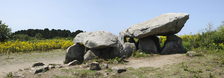 Ile aux moines - Le dolmen