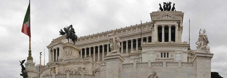 Rome, Monument à Victor Emmanuel
