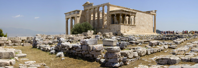 Athènes, Acropole (Erechtheion)