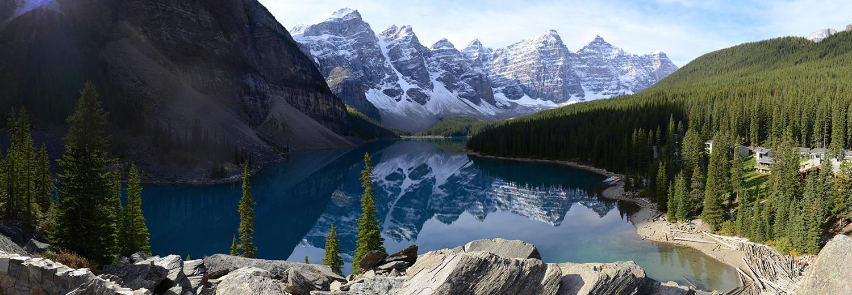 Alberta, Banff N.P. (lac Moraine)