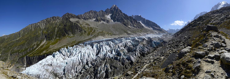 Haute-Savoie, Argentière (Lognan, glacier d'Argentière)