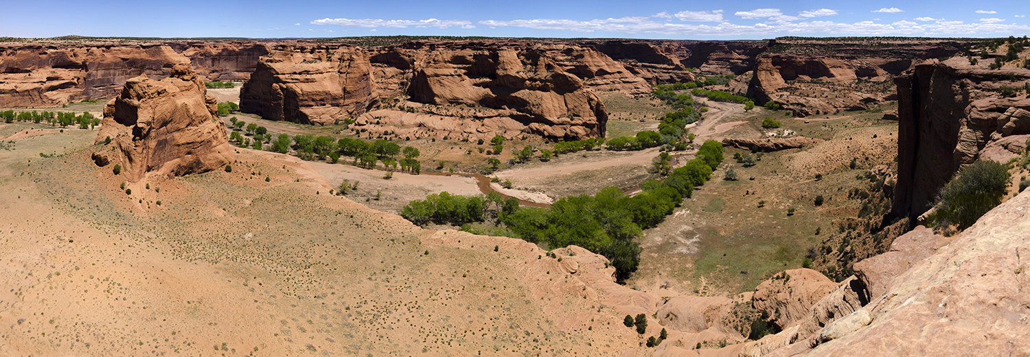 Canyon de Chelly, Junction Overlook