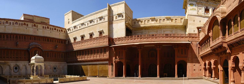 Bikaner, fort de Junagadh