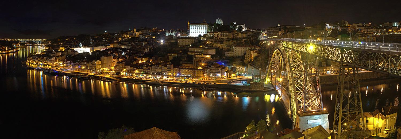 Porto, vu de Vila Nova de Gaia