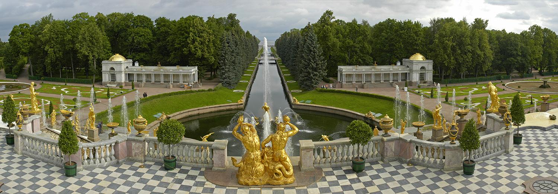 Peterhof, grande cascade