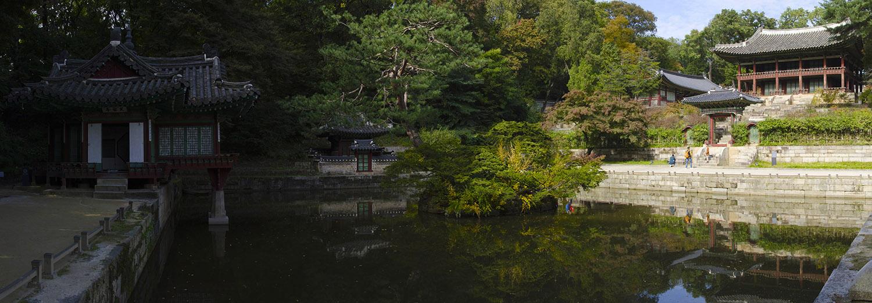Séoul, palais Changdeokgung, le jardin secret
