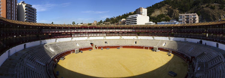 Malaga, plaza de toros La Malagueta