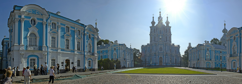 Saint Petersbourg, monastère Smolny