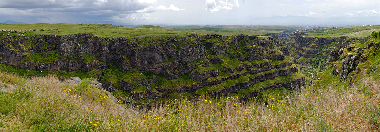 Saghmosavan, canyon de Kasakh
