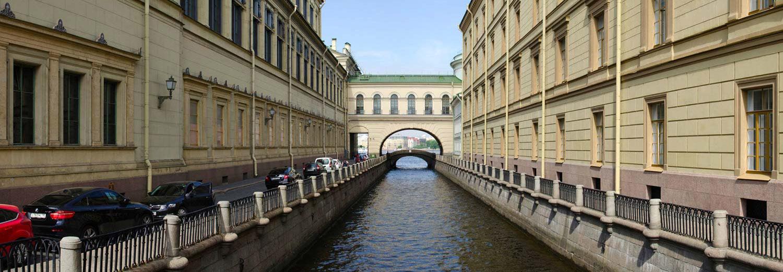Saint Petersburg, pont de l'Hermitage