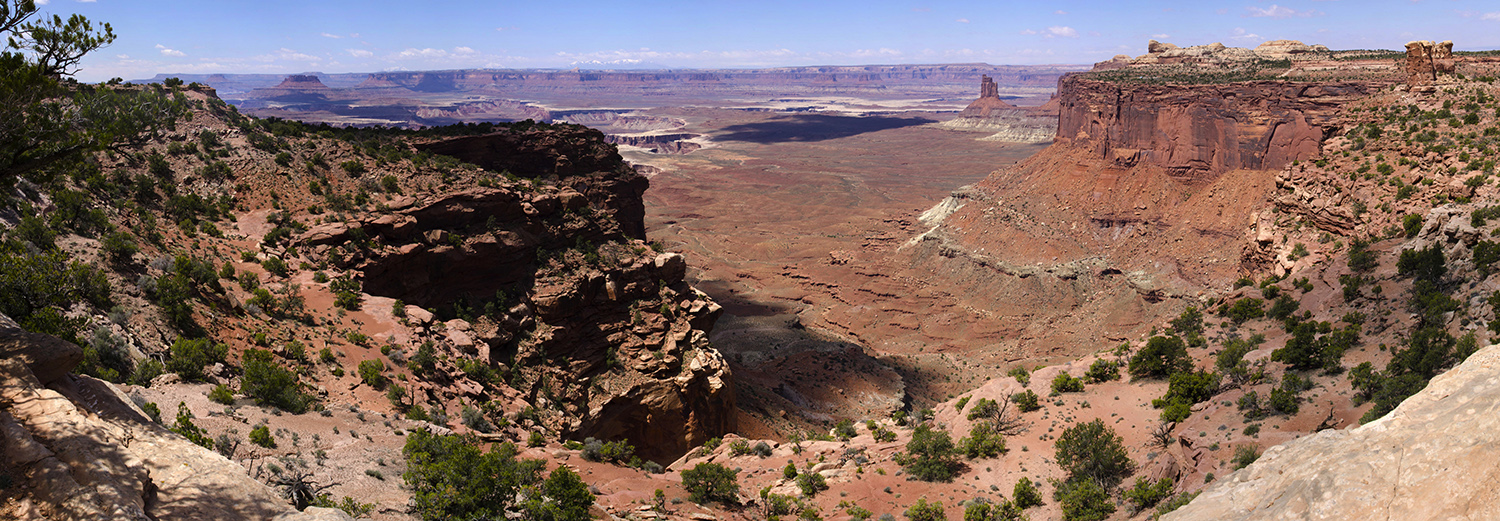 Canyonlands N.P., Candlestick Tower Overlook