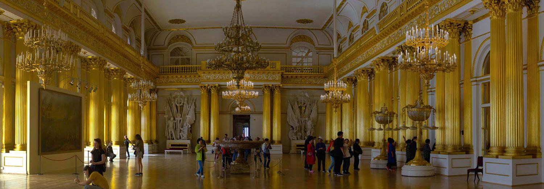 Saint Petersburg, musée de l'Hermitage (salle des emblèmes)