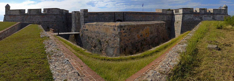Santiago de Cuba, castillo de San Pedro de la Rocca del Morro
